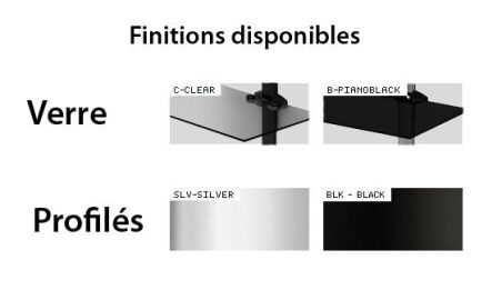 Sonorous PL2610CSLV - Fixations murales