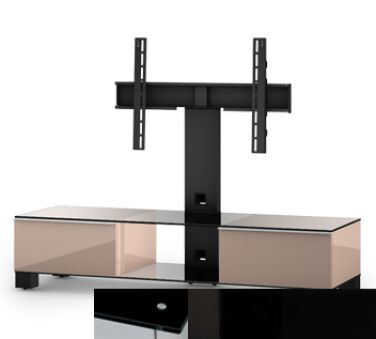 Sonorous MD8140BHBLKBLK - Meuble MOOD pour écran PLASMA - LCD ( Pour écran jusqu'à 56'' - maxi 50 kg