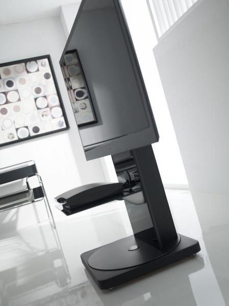 meuble pour cran plasma lcd achat vente gisan fs101ne. Black Bedroom Furniture Sets. Home Design Ideas
