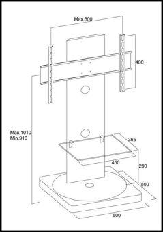 Meuble pour écran Plasma-LCD