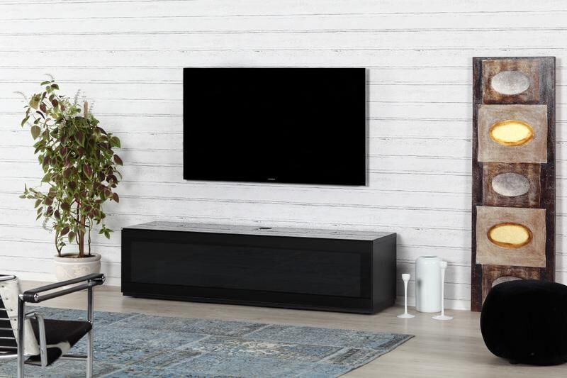 meuble studio pour cran plat achat vente sonorous sta160iblkblkbw. Black Bedroom Furniture Sets. Home Design Ideas
